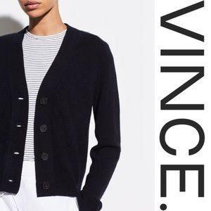 Vince. • Cashmere Shrunken Button Cardigan • NWT
